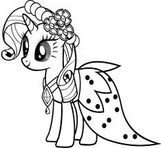 Free Printable My Little Pony Coloring Pages For Kids In 2020