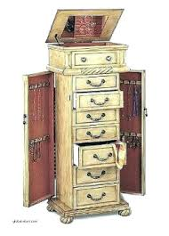 jewelry armoire with mirror full length