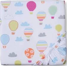hot air balloon nursery crib sheets
