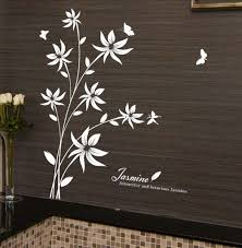 Pin On Flowers Floral Wall Stickers