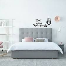 Home Vinyl Wall Decal Stickers Motivational Quotes Owl Always Love You Ebay