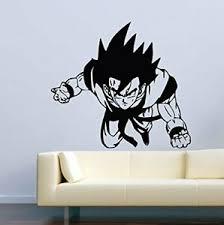 Dragon Ball Z Wall Decal Anime Decor Vinyl Sticker Goku Poster Gift Wall Art St Ebay