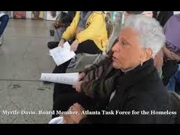 Myrtle Davis, Board Member, Atlanta Task Force for the Homeless ...