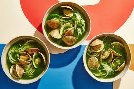 The Greenest Coconut Curry with Clams ...