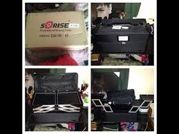 soft sided makeup case in black nyx