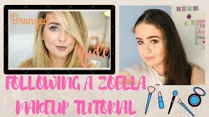zoella makeup tutorial you