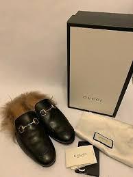 ad gucci princetown slipper in