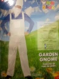 garden gnome fancy dress outfit size xl
