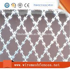 Wall Spikes Razor Barbed Wire Mesh Fence Sale Buy Razor Barbed Fence Wire Razor Barbed Wire Fence Sale Razor Wire Prison Fence Product On Alibaba Com