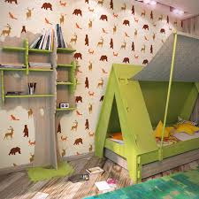 Forest Animals Nursery Wall Stencils Kids Room Wall Stencil Wall Stencils Kid Room Decor Kids Room Wall Wall Stencil Kids
