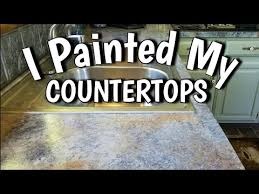 how to paint countertops looks like