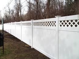Vinyl Privacy Lattice Top Vinyl Fence Panels Vinyl Fence Fence Design