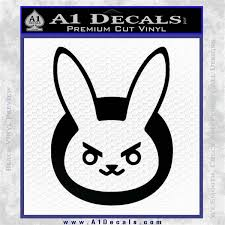 Overwatch Video Game D Va Bunny Logo Decal Sticker A1 Decals
