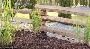 Our New Split Rail Fence The Happy Housie