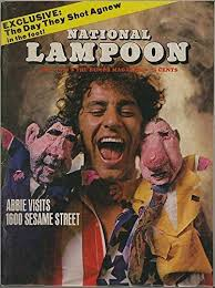 National Lampoon Magazine - Abby Hoffman Cover - October 1970#7 at Amazon's  Entertainment Collectibles Store