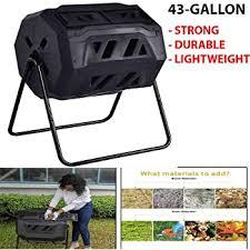 50 gallon rotating compost bin