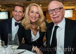 Rupert Does Dallas: Media Magnate Murdoch, Wife Jerry Hall Attend ...