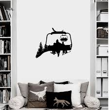 Chairlift Life Wall Decal Powderaddicts
