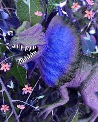"""🦖💚Adriana Price💚🦖 on Instagram: """"A toy dilophosaurus that I  edited!!!🦖💙🦖 (credit me if used) #dilophos… 