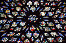 stained glass sainte chapelle gothic