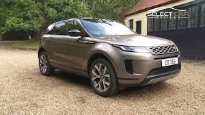 2020 range rover evoque review select