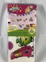 Roommates Rmk3154scs Shopkins Peel And Stick Wall Decals Home Decor Kids Room 689791251176 Ebay