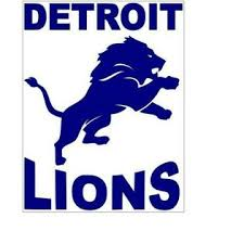 Bubbas Detroit Lions Logo 8 X 10 Vinyl Car Truck Window Decal Stickers