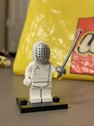 Lego Minifigure Series 13 Fencer Rare Ebay
