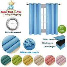 Nicetown Blackout Draperies Curtains For Kids Room Window Treatment W42 X L54 For Sale Online Ebay