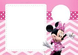 Coqueta Minnie En Rosa Invitaciones Para Imprimir Gratis Ideas