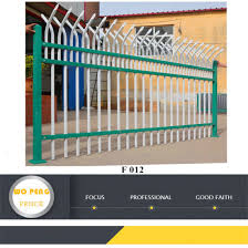 China 8 Feet High Security Steel Fence Panels For Industry China Fencing System Fence Panel