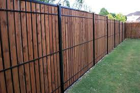 Dallas Fence And Gate Gallery Custom Cedar Iron And Chain Link Fortress Iron Fence Wood Fence Design Backyard Fences