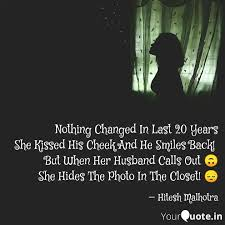 nothing changed in last quotes writings by hitesh