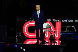 Biden says at CNN town hall that he's ...