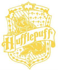Harry Potter Hufflepuff Crest Vinyl Decal Etsy