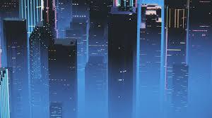 skyser buildings minimalist 4k hd