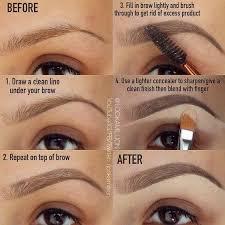 makeup tutorials you eyebrows