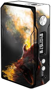 Amazon Com Skin Decal Vinyl Wrap For Voopoo Drag 157w Tc Resin Reg Vape Mod Stickers Skins Cover Wolf Howling At Moon