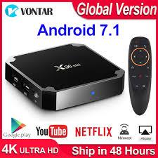 Smart TV Box Player X96 Mini 8G 16G Amlogic S905W Quad Core 4K ...