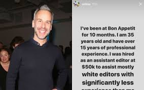 Bon Appetit' Chief Adam Rapoport Quits After Staff Call Out Racism Across  The Title En Masse