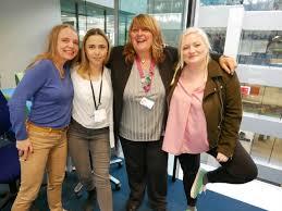 File:Carla Groom, Kate Ogilvie, Beverley Smith, Rose Waite - GDS Academy  5th birthday London 2019.jpg - Wikimedia Commons