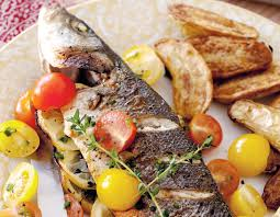 Fish With Marinated Tomatoes Recipe ...