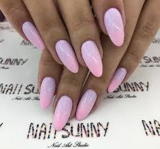 Pink Nails With Images Paznokcie Ombre Malowanie Paznokciu