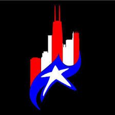 Puerto Rico Car Decal Sticker Chicago Skyline With Flag 222 Ebay