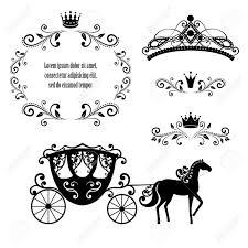 Elementos De Diseno Marco De Realeza Vintage Con Corona Diadema