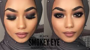 smokey eye makeup black saubhaya