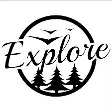 Explore Adventure Travel Camping Vinyl Decal Sticker Ideal For Car Bus Laptop Rear Window Car Sticker For Car Vinyl Decals Stickersdecal Sticker Aliexpress