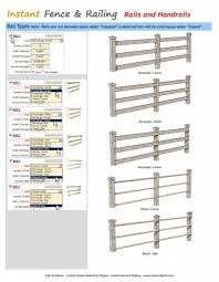 Instant Fence Railing Rails And Handrails Vali Architects