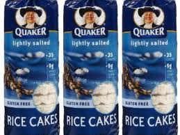 lightly salted rice cakes nutrition