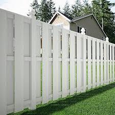 5 In X 5 In X 8 Ft White Vinyl Fence Post